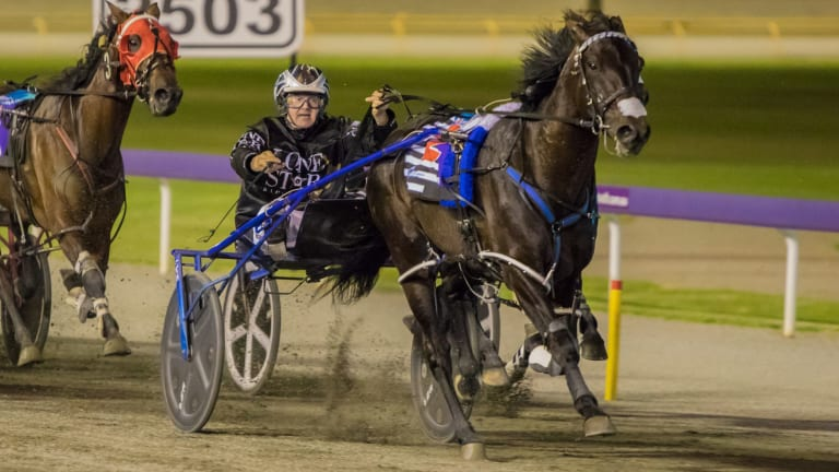 Rough riding: Lazarus could not muster up a performance in Fremantle at the level seen in the Inter Dominion late 2017.