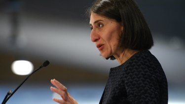 NSW Premier Gladys Berejiklian said the laws would be the nation's toughest.
