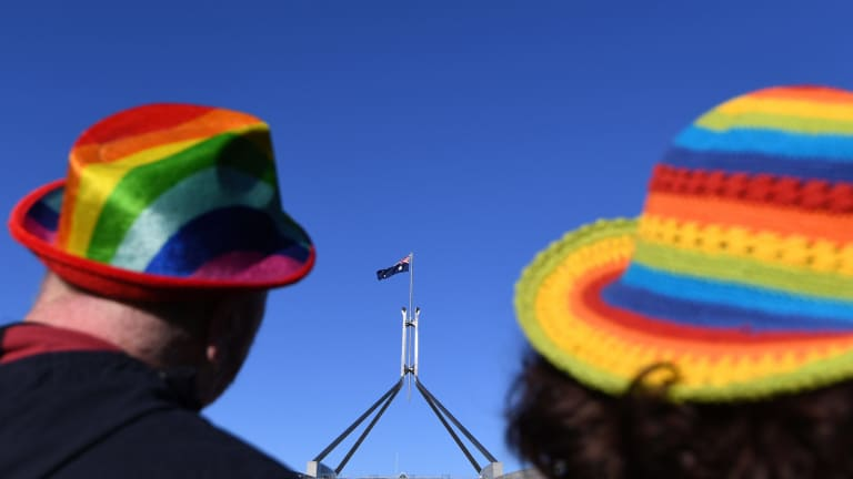 The ABC has warned its high profile presenters against advocating in favour of changing Australia's marriage laws.