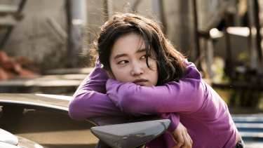 Jun Jong-seo plays the elusive  Hae-mi in Burning.