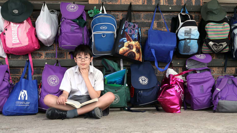 Transitioning: Jacob Bradd, pictured at 13 in 2012 when he completed his first HSC maths extension exam.