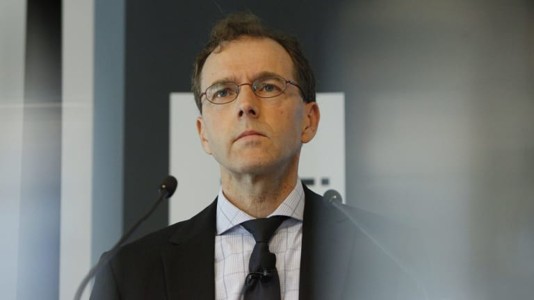"RBA heads of payments policy Tony Richards admitted to owning a ""small amount"" of bitcoin."