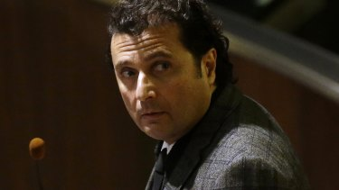 Francesco Schettino at the Grosseto court in Italy last year.