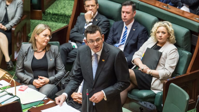 Premier Daniel Andrews issues a historic apology to the men and women convicted under Victoria's anti-gay laws.