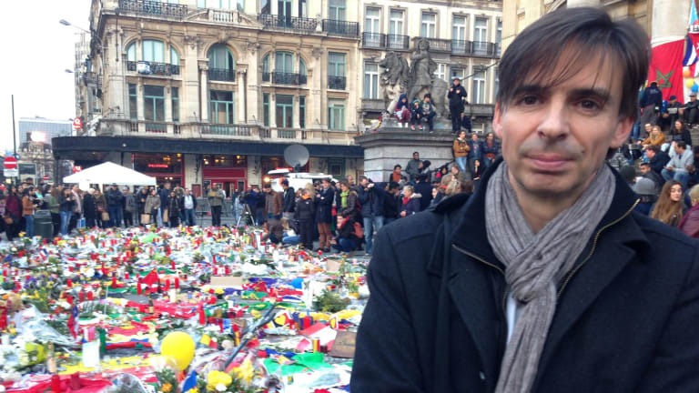 Emmanuel Foulon, one of the organisers of thr march.