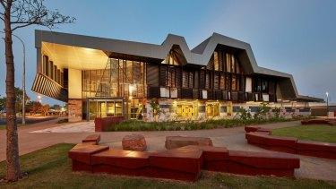 Kununurra Court House in Western Australia, designed by Martyn Hook.
