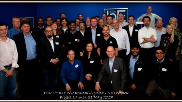 A team of volunteers is going to set up a free IoT network for Perth.