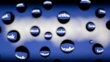Mobile advertising made up about 84 percent of total ad revenue in the quarter, Facebook said.