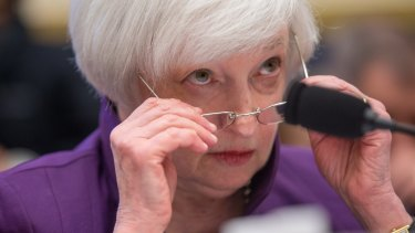 Janet Yellen faces mounting criticism of her decision to raise interest rates in December.