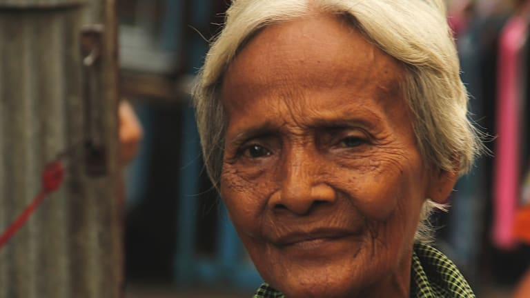 Since the overthrow of the Khmer Rouge in 1979, the 'White Building' has sheltered many elderly survivors of the regime.
