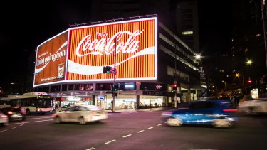 The old Coke sign in Kings Cross.