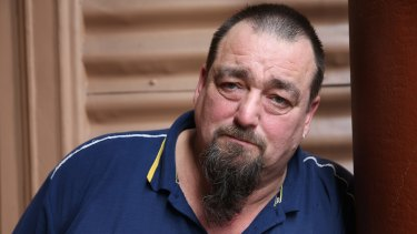 """I am finding it hard to cope each day"": Former truck driver Dwayne Hayes."