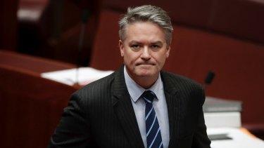 Senator Mathias Cormann.