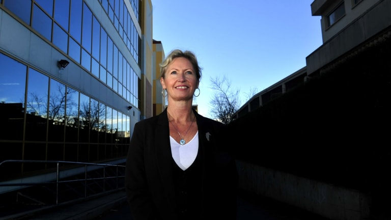Environment and Planning Directorate boss Dorte Ekelund. The government's plans for redevelopment of buildings at Anzac Park would benefit from the extended route being planned.