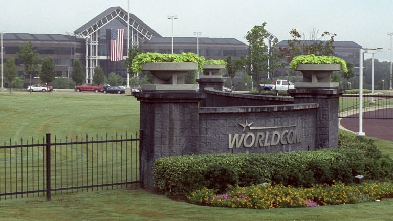 WorldCom headquaters in Mississippi. The telecoms group, which owned OzEmail for three years, revealed in 2002 it had inflated profits by $3.8 billion, one of the largest accounting scandals in history.