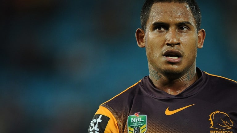 Ben Barba will leave the Broncos after one season in Brisbane.