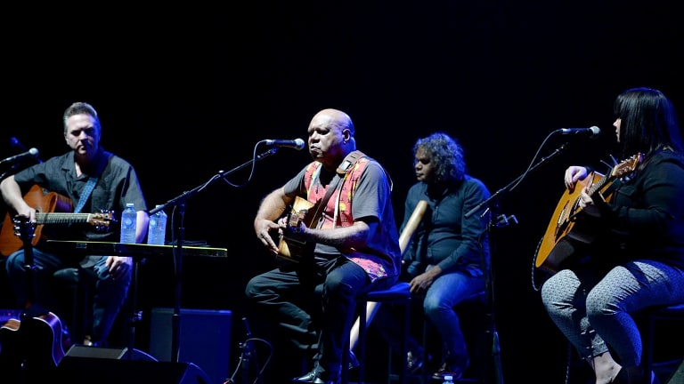 Archie Roach provided the support.