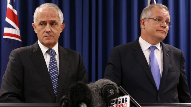 Prime Minister Malcolm Turnbull and Treasurer Scott Morrison have differing views on same-sex marriage but say they will vote in accordance with the plebiscite.
