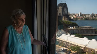 Maya Demetriou, 89, has been a tenant in the Sirius building since 2008.