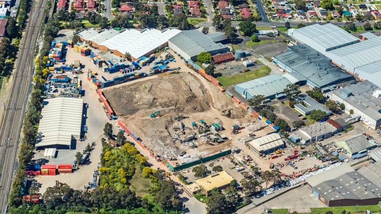 191 Miller Street, Chester Hill, sits on a huge 65,430 sq m and offers three separate buildings on site.