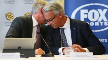 Bumper deal: FFA CEO David Gallop has scored a $57.6 million deal from Fox Sports.
