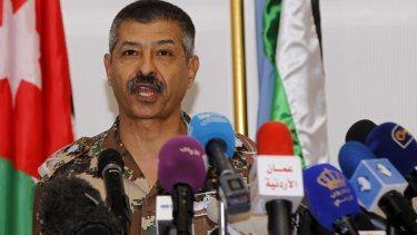 General Mansour al-Jbour, head of the Jordanian air force, says his country intensified its attacks on Islamic State over the weekend.