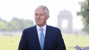 Prime Minister Malcolm Turnbull brokered the asylum-seeker agreement in 2016.