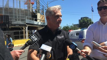 The CFMEU's Gerard Ayers says the man's death was 'utterly unforgivable'.