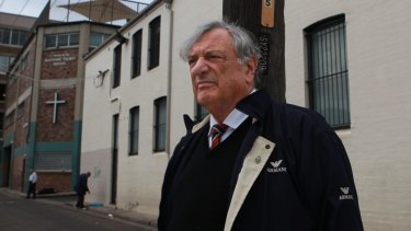 Former Woolloomooloo judge Marcus Enfield is writing a book which reflects on the major issues of his life and his attempts to deal with them.