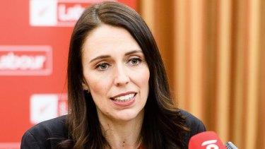 New Zealand's prime minister-elect, Jacinda Ardern.