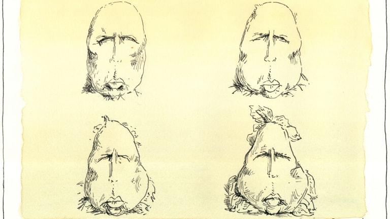 King Pierre Dutton. Illustration: Matt Golding (with apologies to Honoré Daumier).