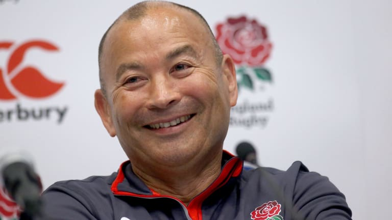 England coach Eddie Jones.