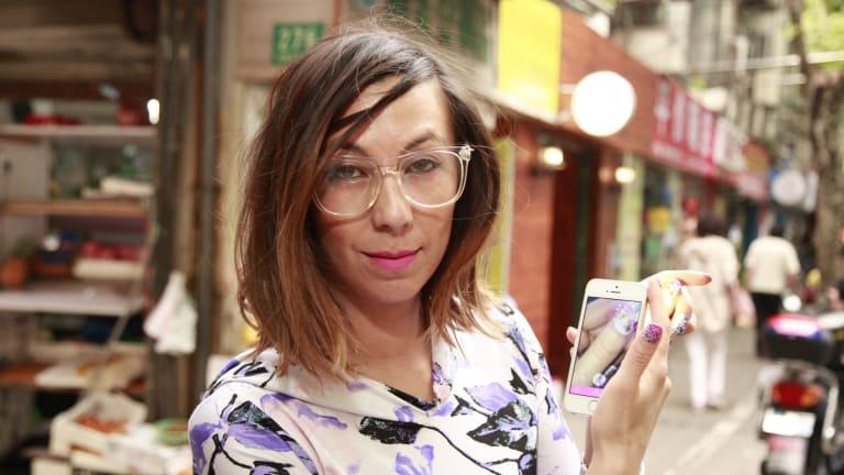 Thea Baumann in Shanghai.