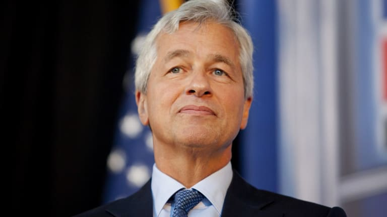 """Trump once called the dean of New York bankers, JPMorgan Chase chief executive Jamie Dimon, """"the worst banker in the United States""""."""