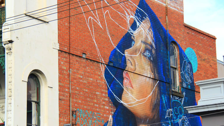 Street art by Adnate.
