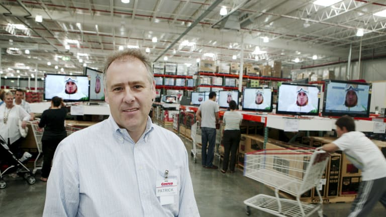 Costco Wholesale managing director Patrick Noone says the company has hundreds of thousands of members, who pay an annual fee of $60.