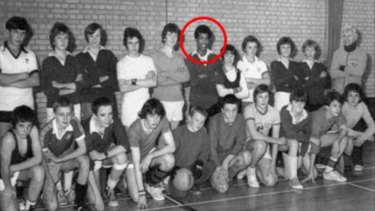 Adrian Ajao in 1979 or 1980 when he was 15 or 16 years old.