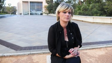 Tania Isbester has taken her fight to save her dog Izzy to the High Court of Australia in Canberra.