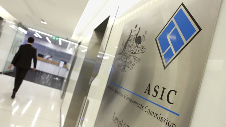ASIC is not involved in the US filing.
