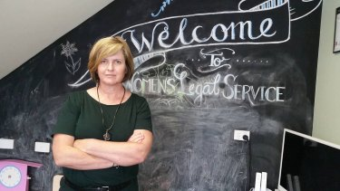 Women's Legal Service Queensland CEO Angela Lynch says the Penda app will help women trying to leave violent relationships.