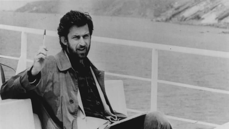 Antonio Neiwiller (Mayor of Stromboli) in a scene from the film Caro Diario.