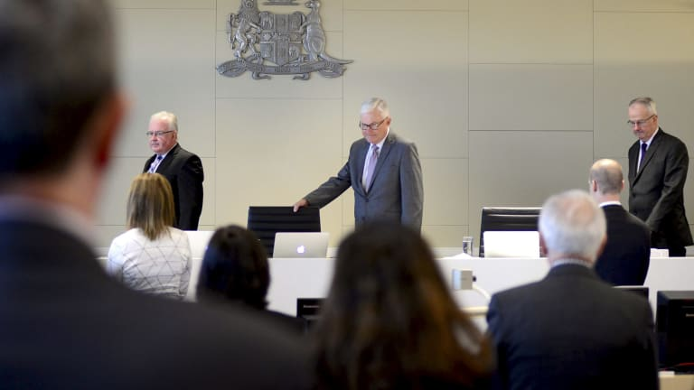 The royal commission is conducting hearings in Newcastle this week.