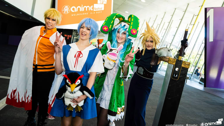 Madman is hosting the inaugural Anime Festival in Melbourne this weekend.