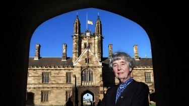 Dame Leonie Kramer became Sydney University chancellor in 1991.