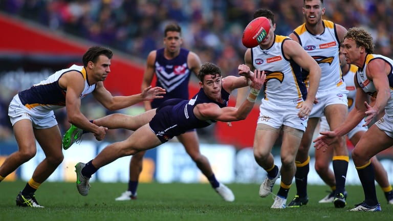 Lachie Neale was once considered too slow for the AFL.