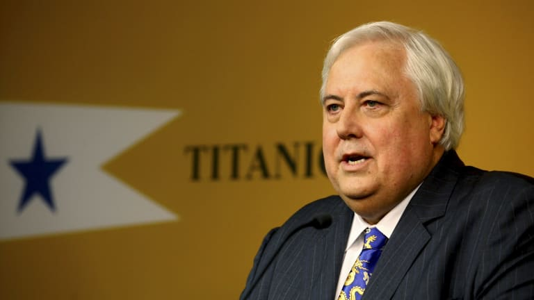 In 2013, Clive Palmer revealed plans to build a replica Titanic.