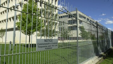 The Australian Signals Directorate, which Defence warned was at risk of shutdown.
