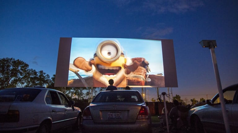 Families across the world have flocked to screenings of <i>Minions</i>.
