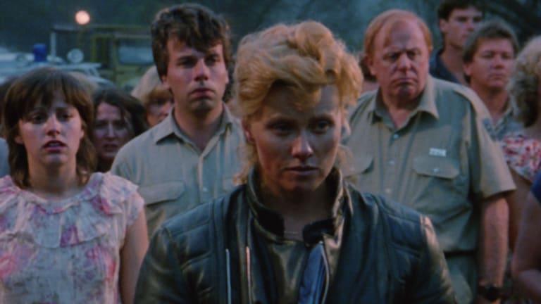 Asta (Deborra-Lee Furness) confronts the men who raped Lizzie