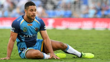 Jarryd Hayne during his stint with Gold Coast.